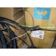 Оптический кабель Б/У для внешней прокладки (с металлическим тросом) в Кратово, оптокабель БУ (Кратово)