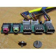 Панель передних разъемов (audio в Кратово, USB в Кратово, FireWire) для корпуса Chieftec (Кратово)