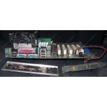 Материнская плата Asus P4PE (FireWire) с процессором Intel Pentium-4 2.4GHz s.478 и памятью 768Mb DDR1 Б/У (Кратово)